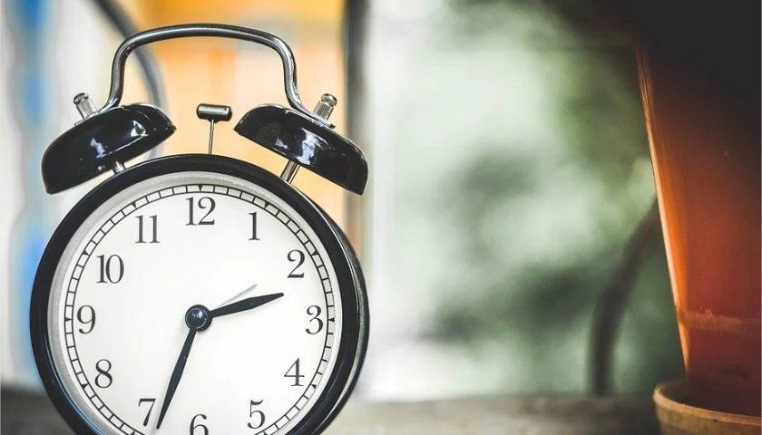 réveil matin pour exprimer la durée du bail